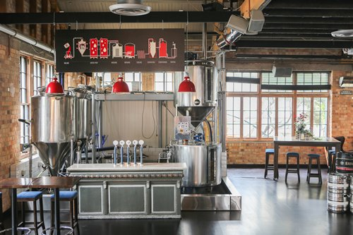 Sweat Shop Brew Kitchen Heart Of The City