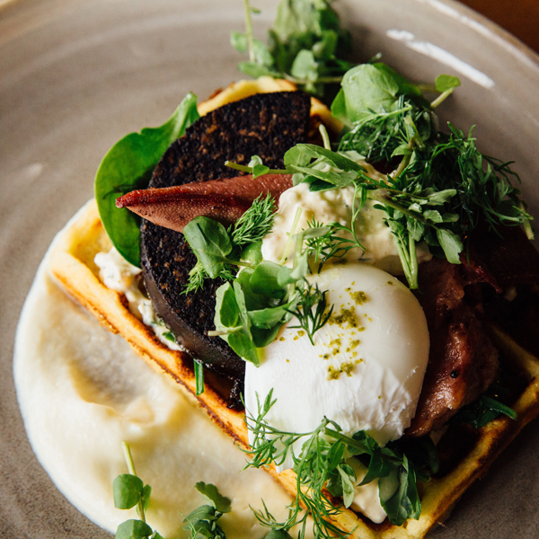 Archived a taste of pope joan at odettes heart of the city for Odette s restaurant month