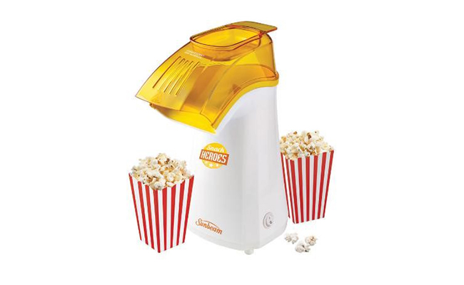 sunbeam theater style popcorn maker instructions