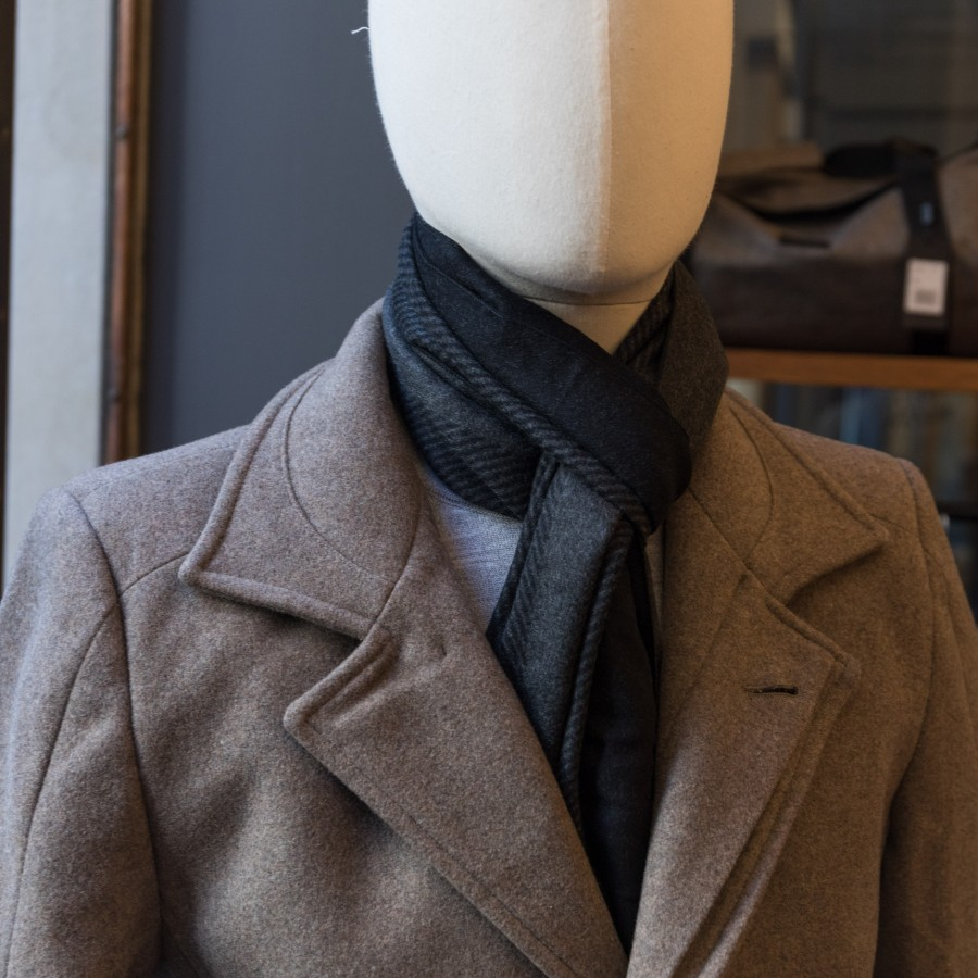 Scarf on Mannequin