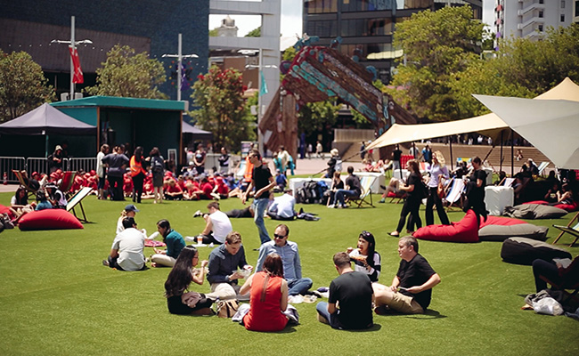 Aucklands Biggest Backyard Party Is Returning To Aotea Square This Summer With Free Entertainment Activities And Events For Everyone