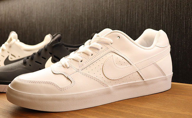 18874c90e990 This all-white hoop classic turned casual shoe