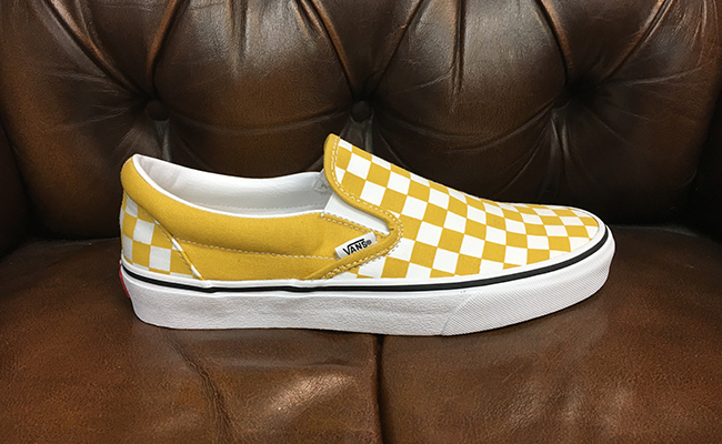 0a6d9ffbc86d Checkerboard Vans, $110. This type of shoe is for people who want to add a  pop of colour to their wardrobe. I love the yolk yellow colour because it's  out ...