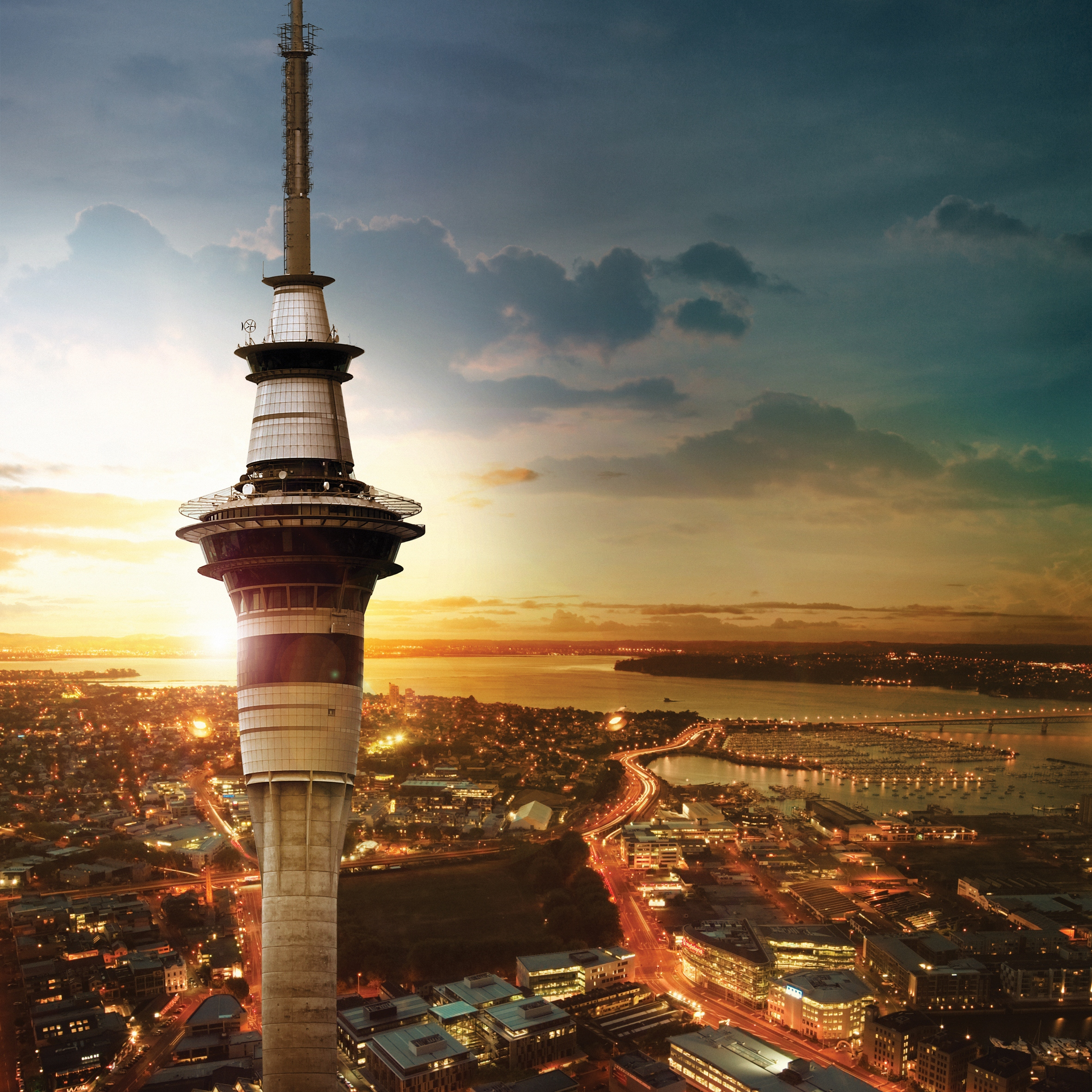 Sky Tower Auckland Activities Attractions Heart Of The City