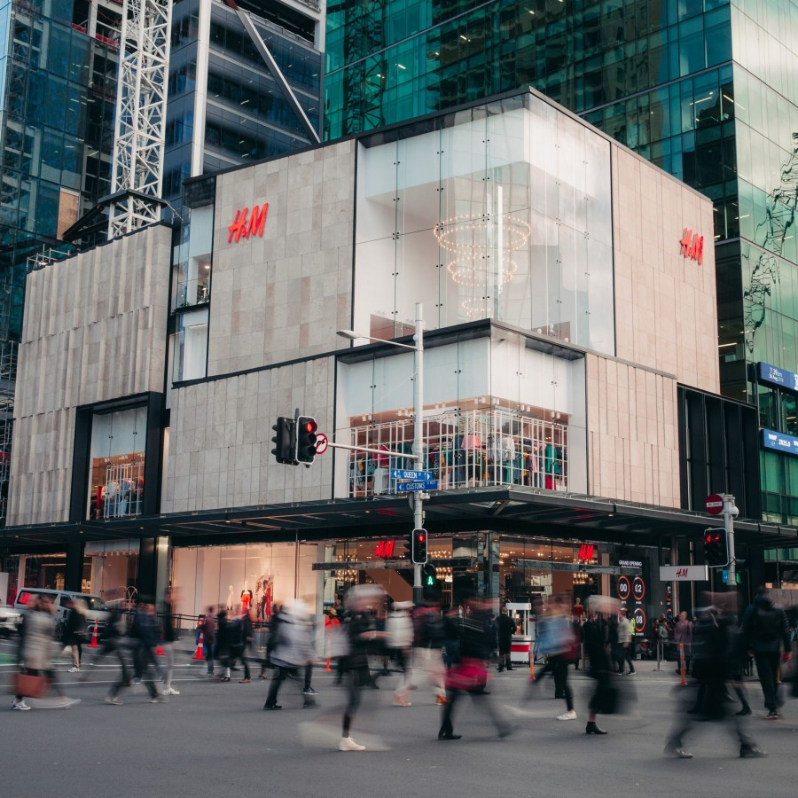 Outside view of H&M