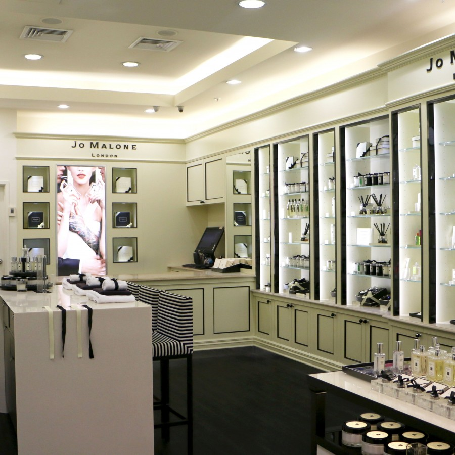 Beauty product showroom