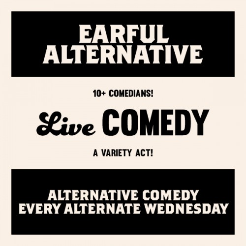 Earful Alternative - Live Comedy at Tom Tom Bar & Eatery