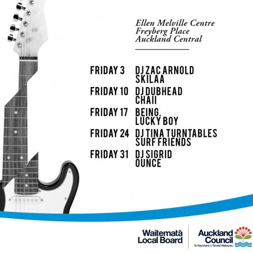 NZ Music Month at Ellen Melville Centre | Heart of the City