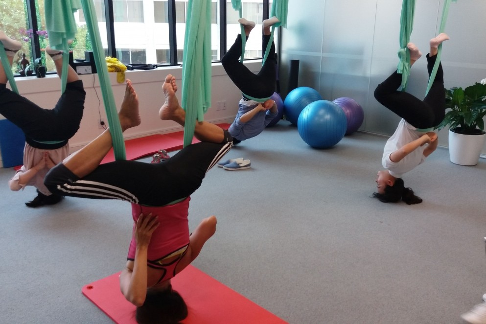 Aerial Yoga and Pilates