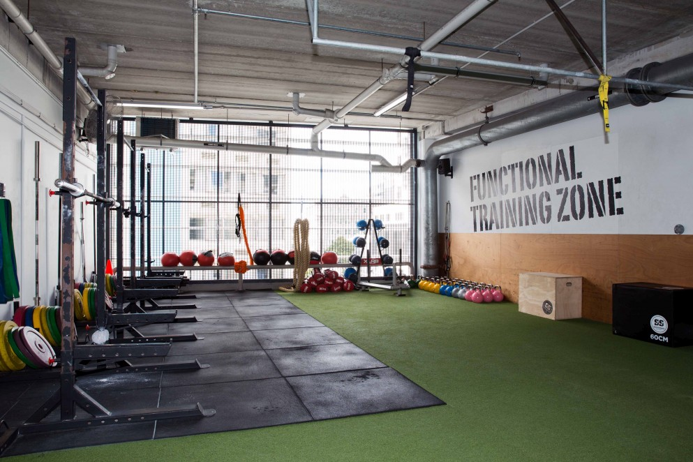 Crossfit workout space