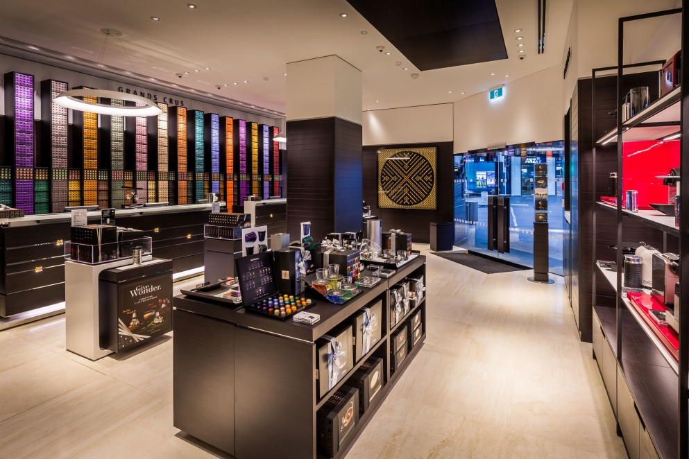 Nespresso Boutique products