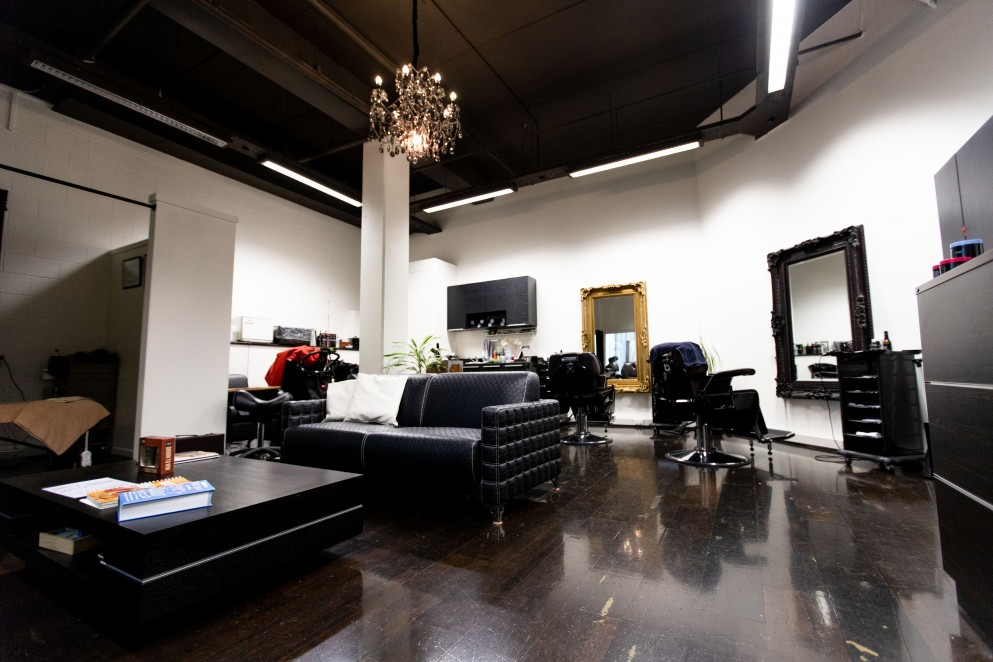 The Grooming Lounge space