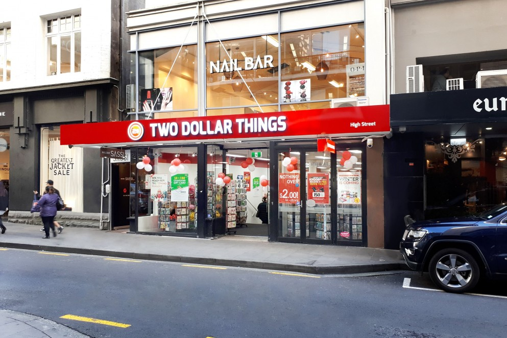 Two Dollar Things shopfront