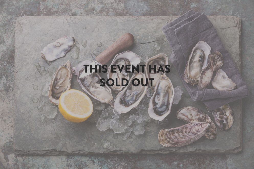 Oyster masterclasses sold out