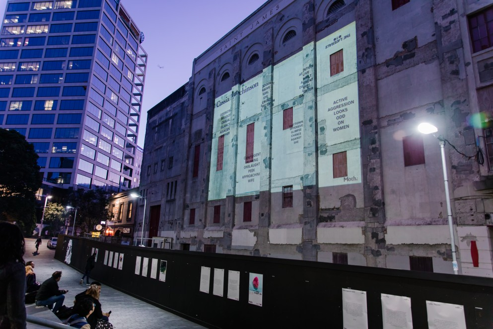 Saint James Theatre Projection