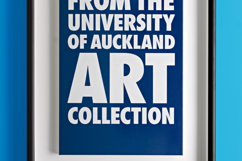 Billy Apple: 'From The University of Auckland Art Collection', 2008