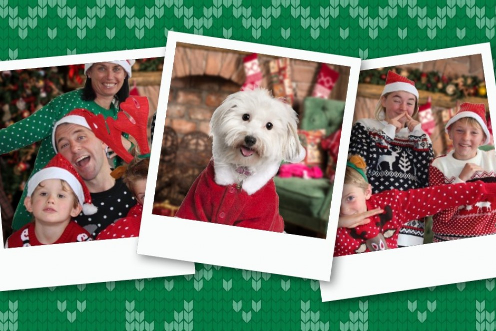 Ugly Christmas Sweater Photos