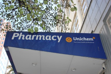 Unichem Pharmacy sign