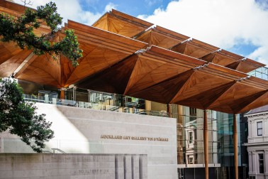 Exterior of Auckland Art Gallery