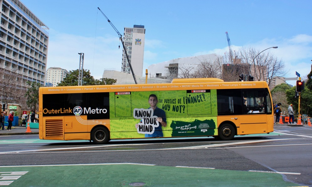 OuterLink Bus Around Auckland | Heart of the City