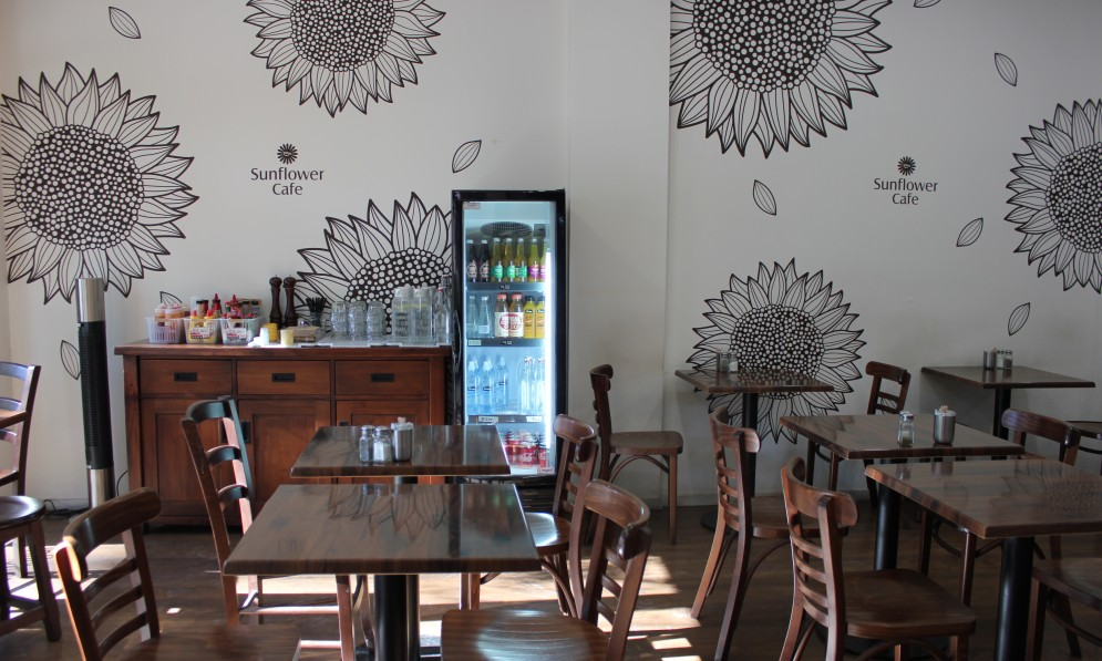 Sunflower Cafe interior