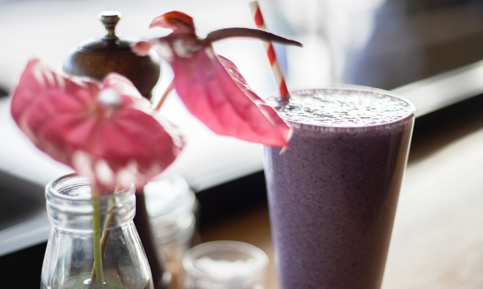 Smoothie at the Botanist