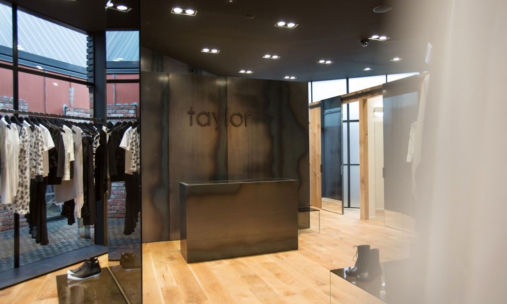 Interior of Taylor Boutique
