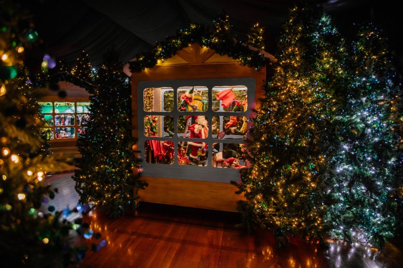 Smith & Caughey's Christmas windows